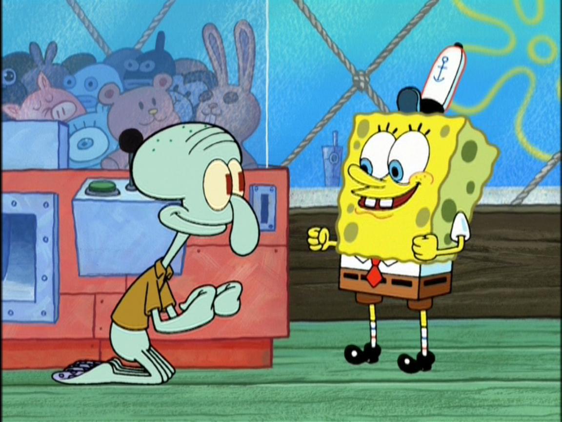 spongebob and squidward spongebob squarepants