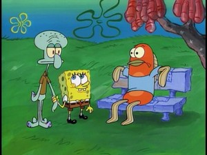 Spongebob and Squidward