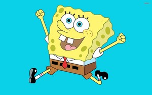 Spongebob kertas dinding