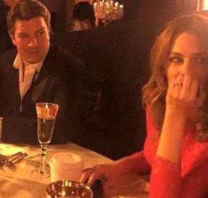 Stana and Nathan - BTS season 7