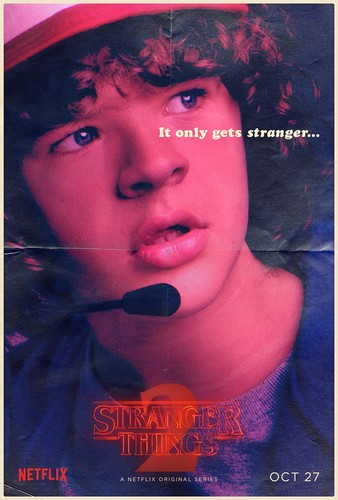 Stranger Things achtergrond entitled Stranger Things 2 - Poster - Dustin Henderson