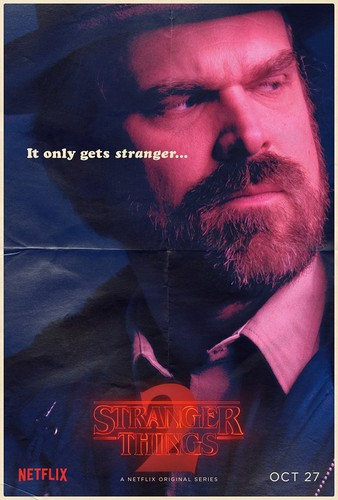 Stranger Things achtergrond titled Stranger Things 2 - Poster - Jim Hopper