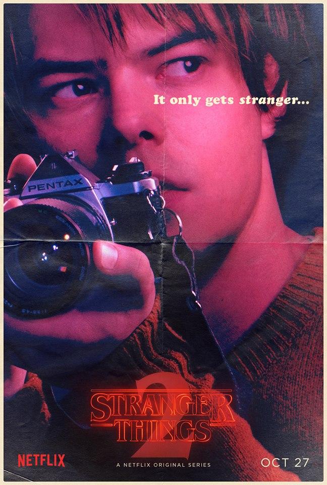 Stranger Things 2 - Poster - Jonathan Byers