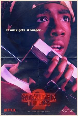 Stranger Things 2 - Poster - Lucas Sinclair