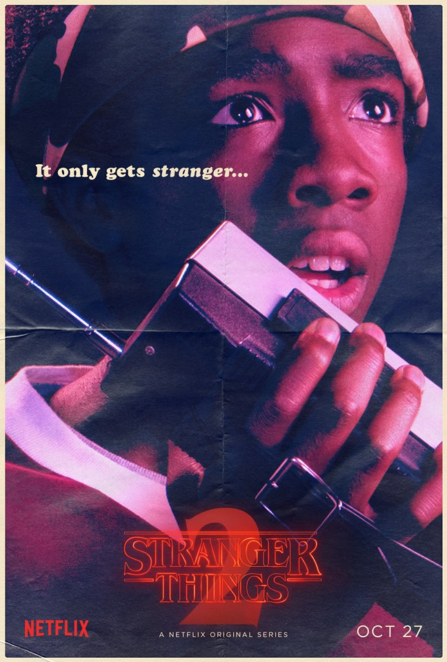 Stranger Things 2 - Poster - Lucas Sinclair