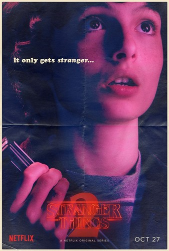 Stranger Things achtergrond entitled Stranger Things 2 - Poster - Mike Wheeler