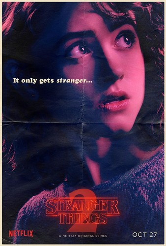 Stranger Things wallpaper entitled Stranger Things 2 - Poster - Nancy Wheeler
