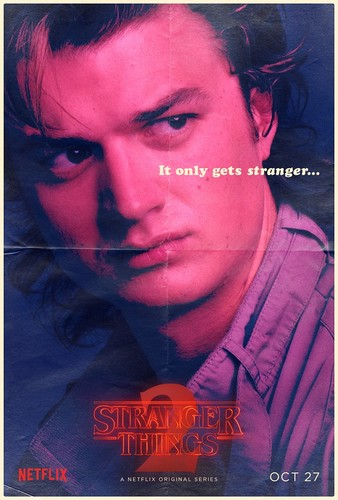 Stranger Things fondo de pantalla titled Stranger Things 2 - Poster - Steve Harrington