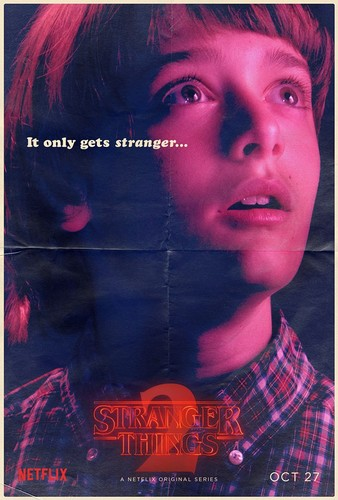 Stranger Things wallpaper entitled Stranger Things 2 - Poster - Will Byers