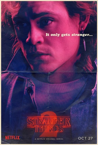 Stranger Things wallpaper titled Stranger Things 2 - Poster - Billy