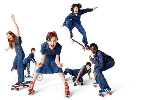 Stranger Things fondo de pantalla entitled Stranger Things Cast at New York Magazine Photoshoot