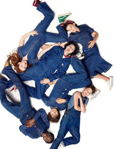 Stranger Things Обои entitled Stranger Things Cast at New York Magazine Photoshoot