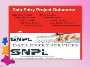Sunita Network Pvt ltd || Data Entry Project direct client