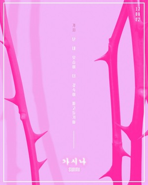 Sunmi '가시나(Gashina)' Concept Poster