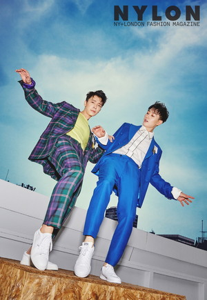 Donghae and Eunhyuk for Nylon