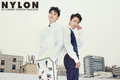 Donghae and Eunhyuk for Nylon - super-junior photo
