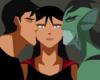 Young Justice OC'S!!! fotografia entitled Superboy and Lagoon Boy beijar Supergirl