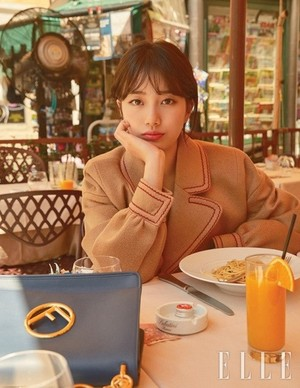 Suzy for 'Elle'