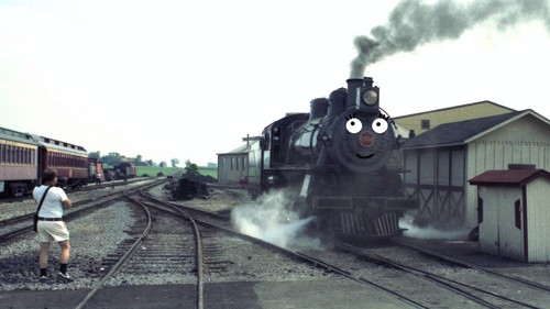 Thomas the Tank Engine achtergrond called Tabby