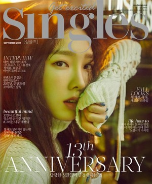 Taeyeon for Singles Magazine September Issue