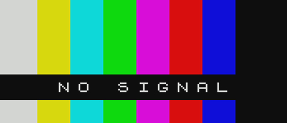 Television Test Screen No Signal 2