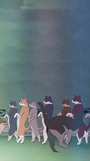 The Cat Returns Phone 壁紙