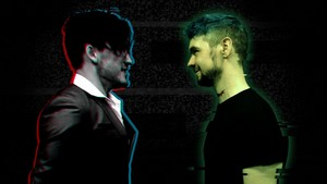 "The ""Darkiplier Vs Antisepticeye"" video"