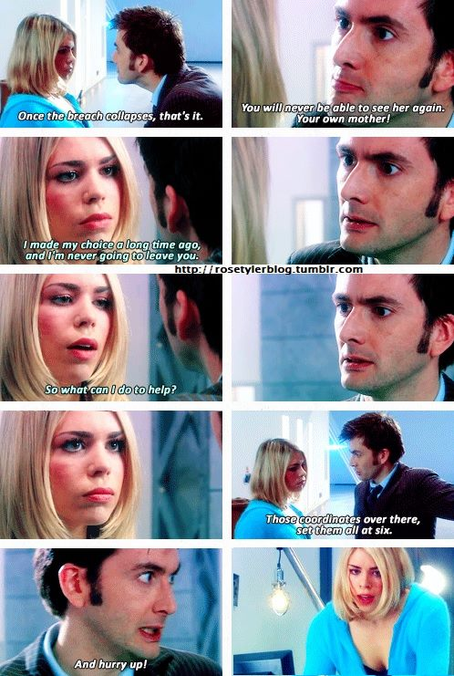 The Doctor and Rose// Doomsday