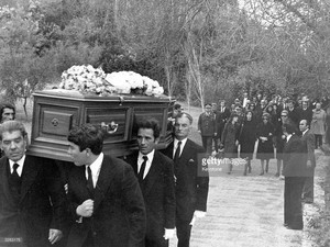 The Funeral Of Aristotle Onassis