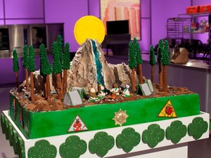 The Girl Scouts Cake