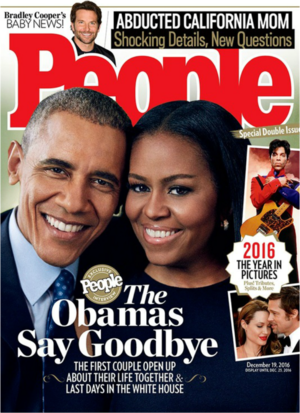 The Obamas On The Cover Of People Magazine
