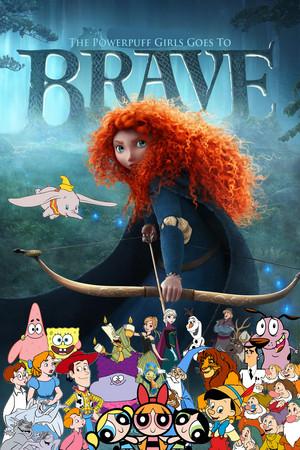 The Powerpuff Girls Goes To Brave