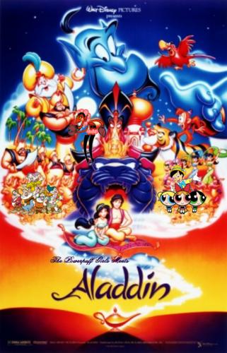 The Powerpuff Girls wallpaper titled The Powerpuff Girls Meets Aladdin