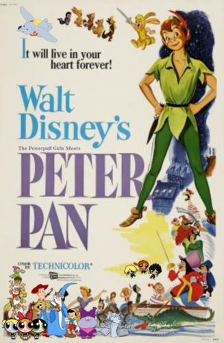 The Powerpuff Girls wallpaper entitled The Powerpuff Girls Meets Peter Pan
