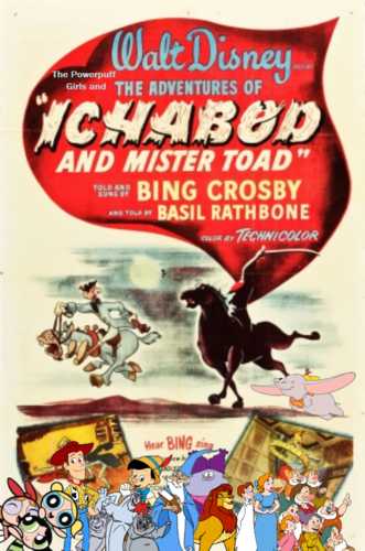 The Powerpuff Girls wallpaper entitled The Powerpuff Girls and the Adventures of Ichabod and Mr. Toad