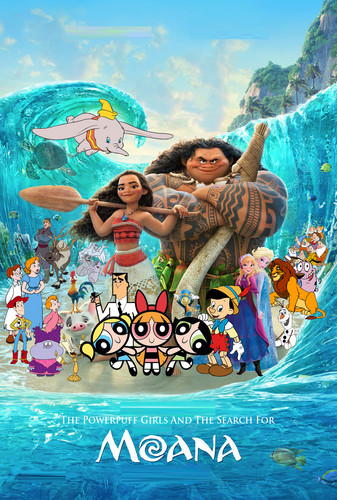 The Powerpuff Girls wallpaper titled The Powerpuff Girls and the Search for Moana