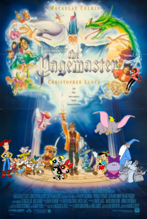 The Powerpuff Girls's Adventures in The Pagemaster