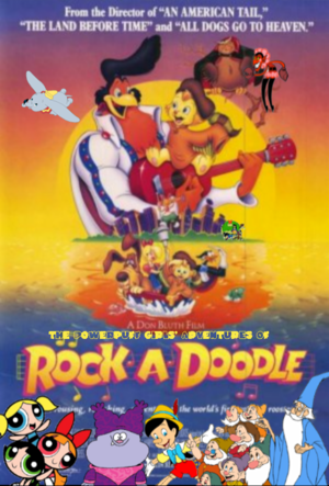 The Powerpuff Girls's Adventures of Rock a Doodle