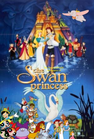 The Powerpuff Girls's Adventures of The cigno Princess