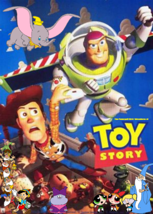 The Powerpuff Girls's Adventures of Toy Story