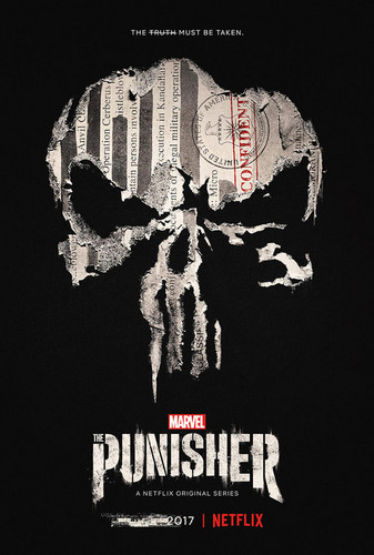 The Punisher - Netflix kertas dinding entitled The Punisher - Season 1 Poster