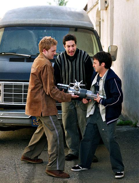 The Trio: Warren, Jonathan and Andrew