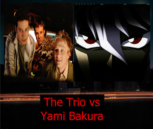 The Trio vs Yami Bakura