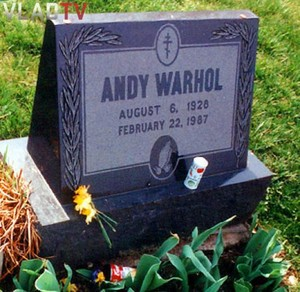The Gravesite Of Andy Warhol