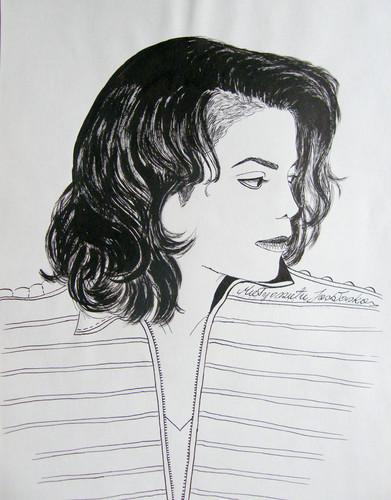 Michael Jackson Hintergrund titled The Legendary Michael Jackson