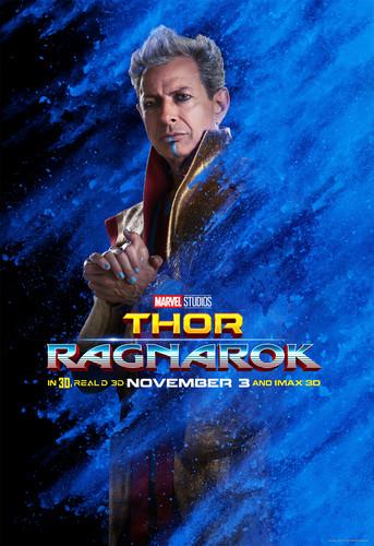 Thor: Ragnarok wallpaper entitled Thor: Ragnarok - Character Poster - Grandmaster