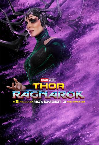 Thor: Ragnarok wolpeyper called Thor: Ragnarok - Character Poster - Hela