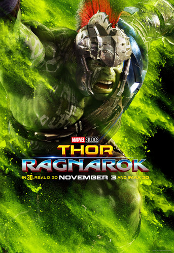 Thor: Ragnarok দেওয়ালপত্র called Thor: Ragnarok - Character Poster - Hulk