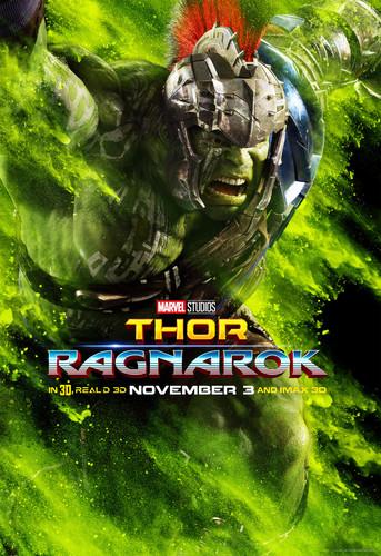 Thor: Ragnarok پیپر وال titled Thor: Ragnarok - Character Poster - Hulk