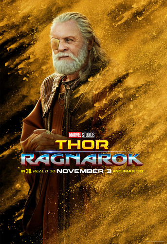 Thor: Ragnarok fond d'écran titled Thor: Ragnarok - Character Poster - Odin